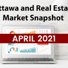 Ottawa and Real Estate Market Snapshot April 2021